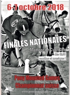 Finale du Championnat CH de pony-mounted games à Curtilles!!!